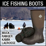 Muck Boots are great for Ice Fishing, Hunting and Work.